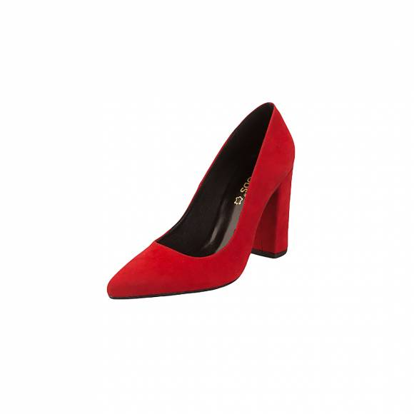 Moods 9550 Red Suede