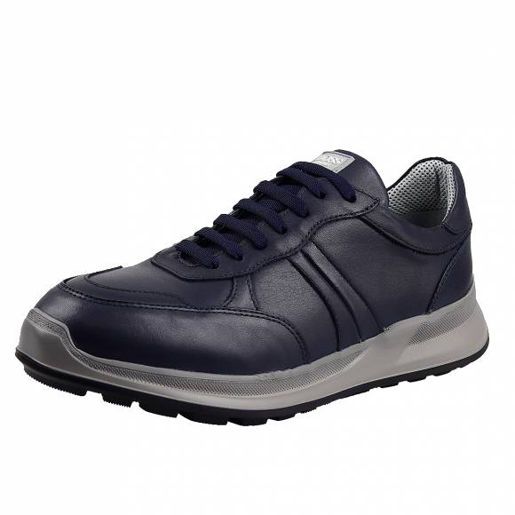 Ανδρικά Sneakers Boss Shoes N6446 (6298) Blue Sporty