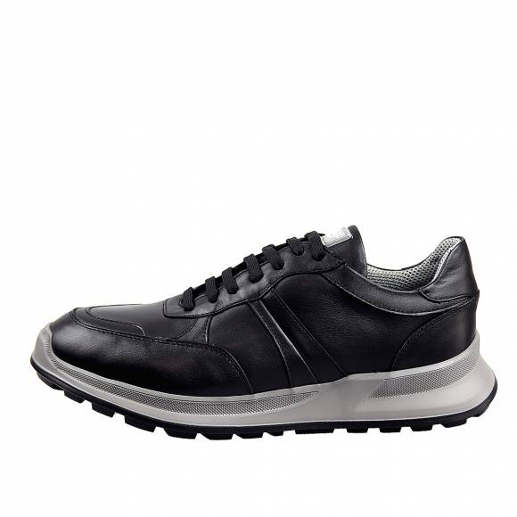 Ανδρικά Sneakers Boss Shoes N6446 (6298) Black Sporty