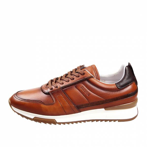 Ανδρικά Sneakers Boss Shoes NR110 Cognac Burn