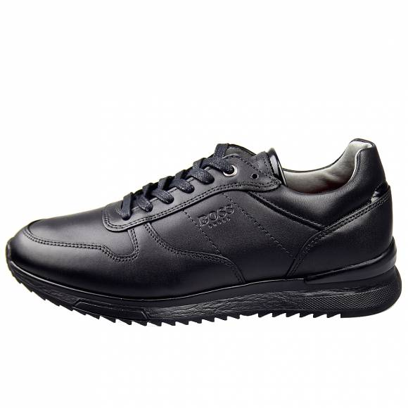 Ανδρικά Sneakers Boss Shoes P1402 Black Burn