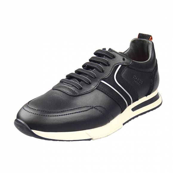 Ανδρικά Sneakers Boss Shoes P153 Black Burn