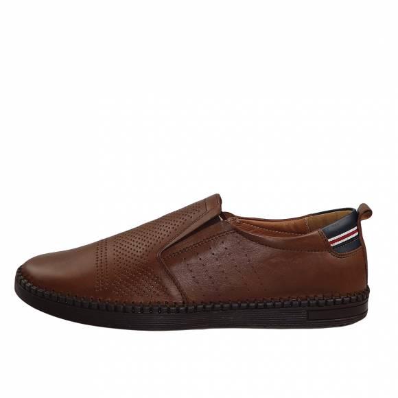 Ανδρικά Παπούτσια Casual Boxer 21179 Tabba Leather