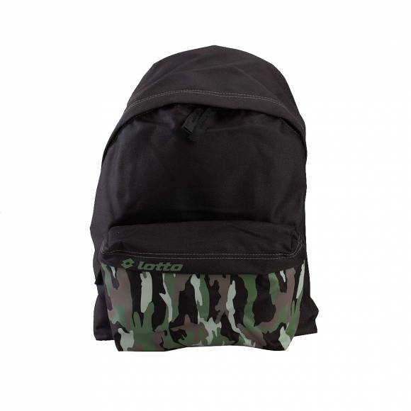 Ανδρικό Backpack LOTTO S7492 BKP RECORD PRD BLK LEAF