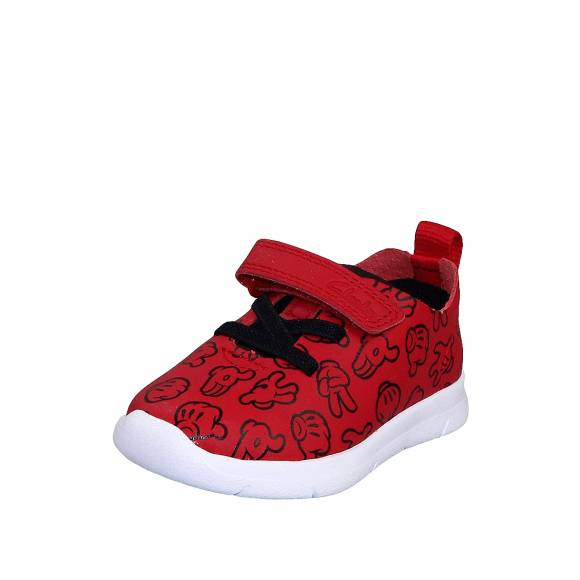 Παιδικά Sneakers Clarks Ath Comic T 26149567 7 Red ecco leather