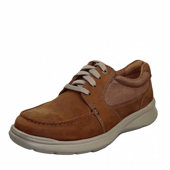 Ανδρικά Παπούτσια Casual Clarks Cortell Lane 26148651 7 Tan leather
