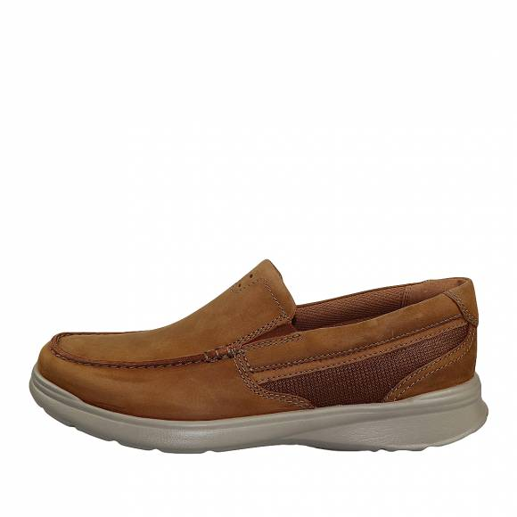 Ανδρικά Παπούτσια Casual Clarks Cotrell Easy 26145300 7 Tan Combi