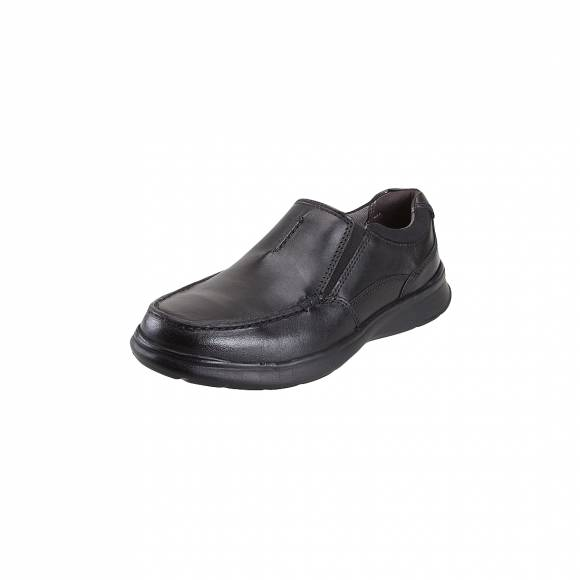Ανδρικά Δερμάτινα Slippers Clarks Cotrell Free 26137386 Blk Smooth