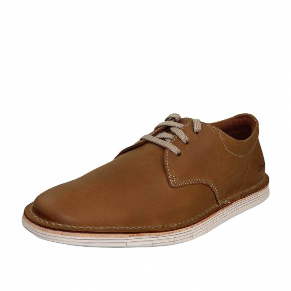 Ανδρικά Δετά Clarks Forge Vibe 26149642 7 Tan leather