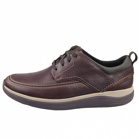 Ανδρικά Casual Παπούτσια Clarks Garratt Street 26148762 7 Mahogany Leather
