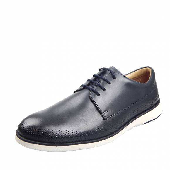 Ανδρικά Παπούτσια Casual Clarks Helston Walk 26148259 Navy leather