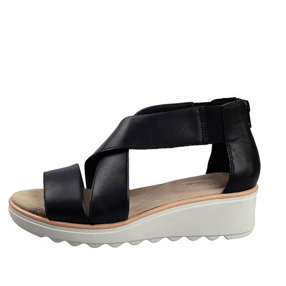 Γυναικεία Flatforms Clarks Jilian Rise 26149687 4 Black leather