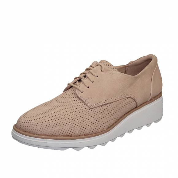Γυναικεία sneakers Clarks Sharon Crystal 26140642 4 Blush Nubuck