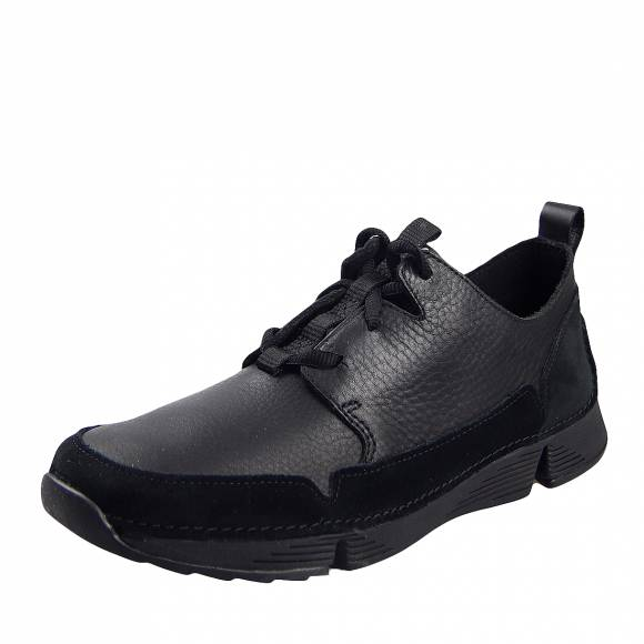 Ανδρικά Sneakers Clarks Tri Solar 26146319 7 Black leather