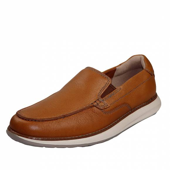 Ανδρικά Παπούτσια Casual Clarks unstructured Un Pilot Step 26148664 7 Tan Leather