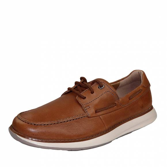 Ανδρικά Παπούτσια Casual  Clarks unstructured Un Pilot Step 26149716 7 Tan Leather