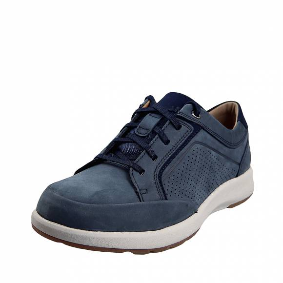Ανδρικά Παπούτσια Casual Clarks unstructured Un Trail Form 26140976 7 Navy Nubuck