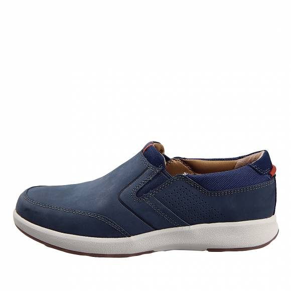 Ανδρικά Παπούτσια Casual Clarks unstructured Un Trail Step 26140380 7 Navy Nubuck