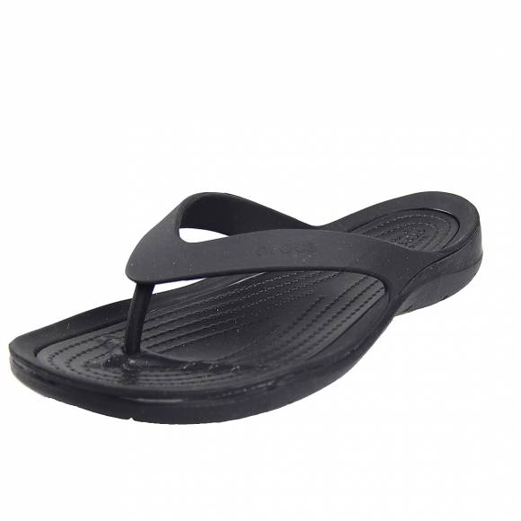 Γυναικείες Σαγιονάρες Crocs 204974 060 Swiftwater flip w Black Black Relaxed fit