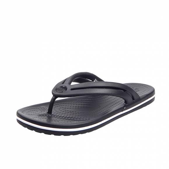 Γυναικείες Σαγιονάρες Crocs 206100 001 Croband Flip W Black