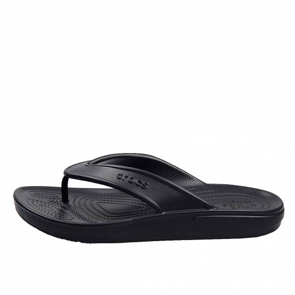 Unisex Σαγιονάρες Crocs classic II flip Black relaxed fit 206119 001 black