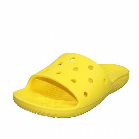Γυναικεία Flatfroms Πέδιλα Crocs classic crocs slide lemon roomy fit 206121 7C1