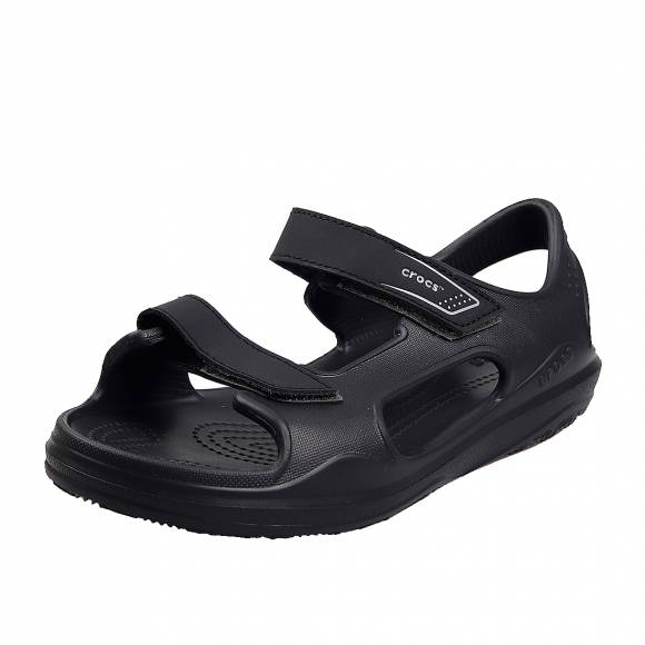Γυναικεία Flatfroms Πέδιλα Crocs swifwater expedition sandal k 206267 0DD black slate grey