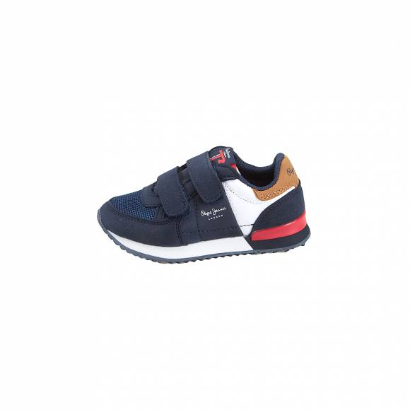Παιδικά sneakers Pepe Jeans PBS30421 595 Syndey Basic AW19 Kids Navy