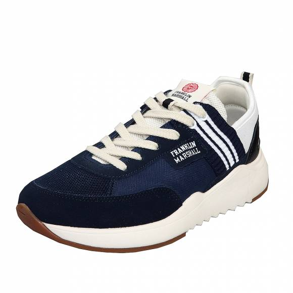 Ανδρικά Sneaker Franklin Marshall Alpha Team FFIE0003L 0195 Navy White