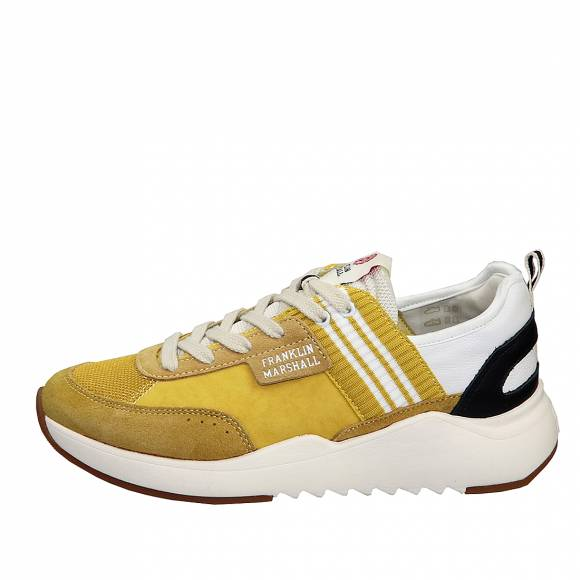 Ανδρικά Sneaker Franklin Marshall Alpha Team FFIE0003L 0319 Yellow White