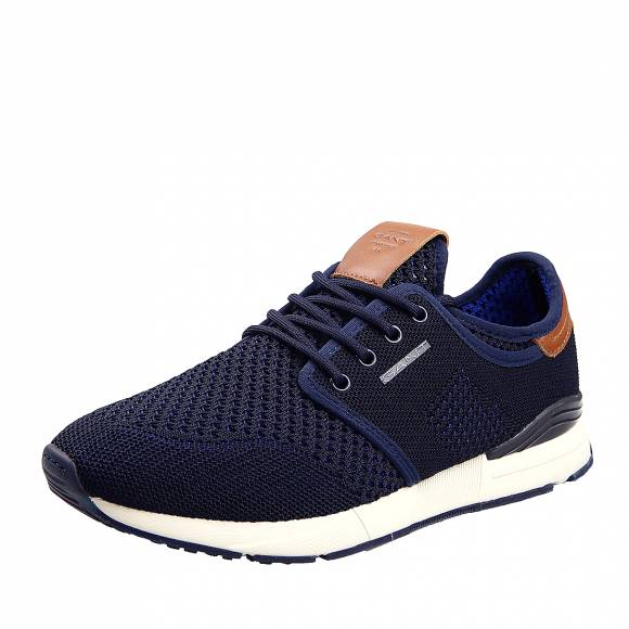 Ανδρικά Δερμάτινα Sneakers Gant Brentoon 20638475 G69 Storm Blue