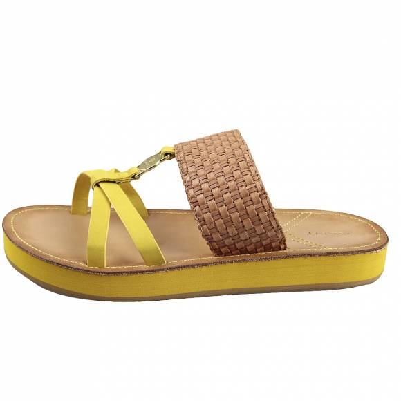 Γυναικεία Flatforms Gant Flatvaille 20569400 G225 Natural Yellow