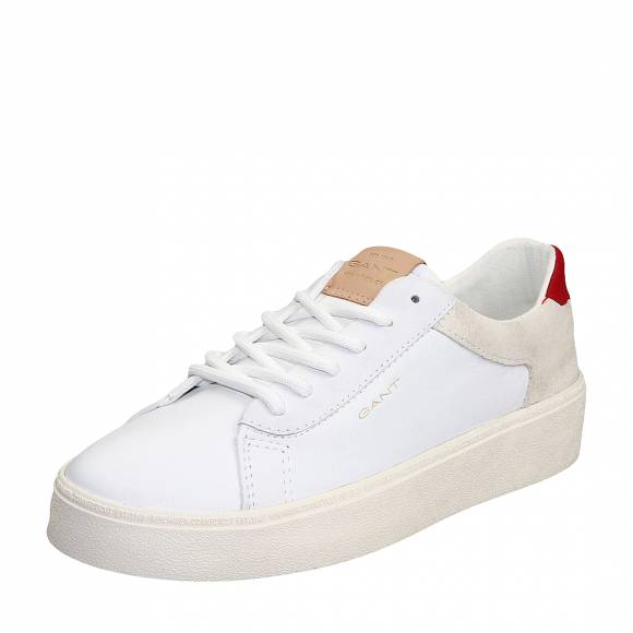 Γυναικεία Δερμάτινα Sneakers Gant Lagalilly 20531504 G282 Bright White