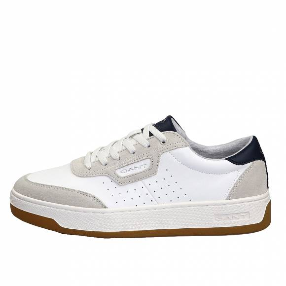 Ανδρικά Δερμάτινα Sneakers Gant Le Brook 20633477 G20 Off White
