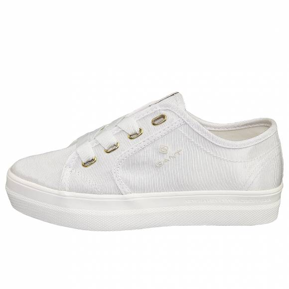 Γυναικεία Sneakers Gant Leisha 20539441 cotton twill G29 White