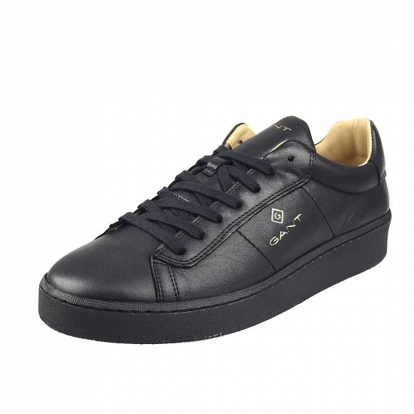 Ανδρικά Sneakers Gant Leville 21631028 leather G00 Black