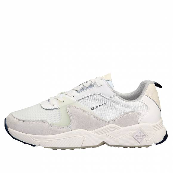 Ανδρικά Δερμάτινα Sneakers Gant Nicewill 20639528 G20 Off White