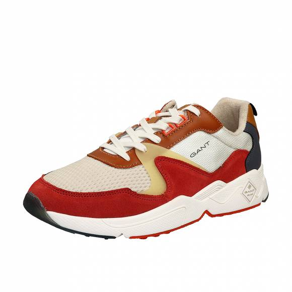 Ανδρικά Δερμάτινα Sneakers Gant Nicewill 20639528 G494 orange Multi