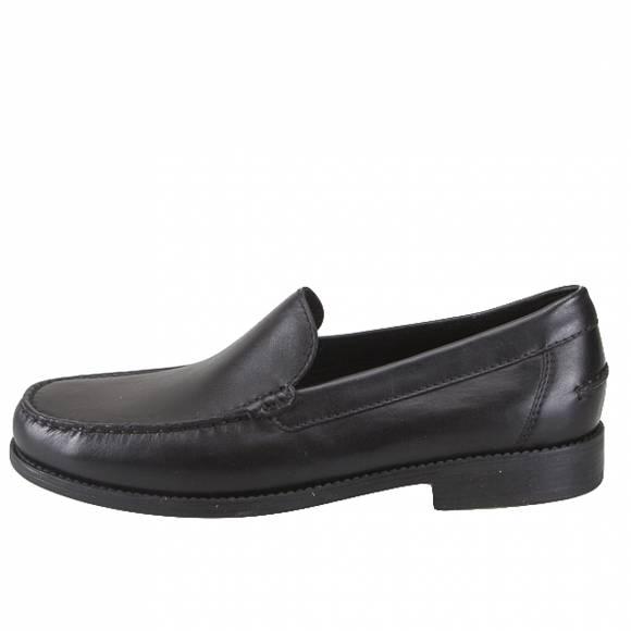 Ανδρικά Δερμάτινα Μοκασίνια Geox U641ZA 00043 C9999 New damon smo leather Black moccasins