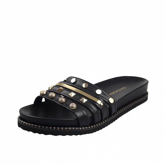 Γυναικεία Flatforms Gianna Kazakou 6403 Black