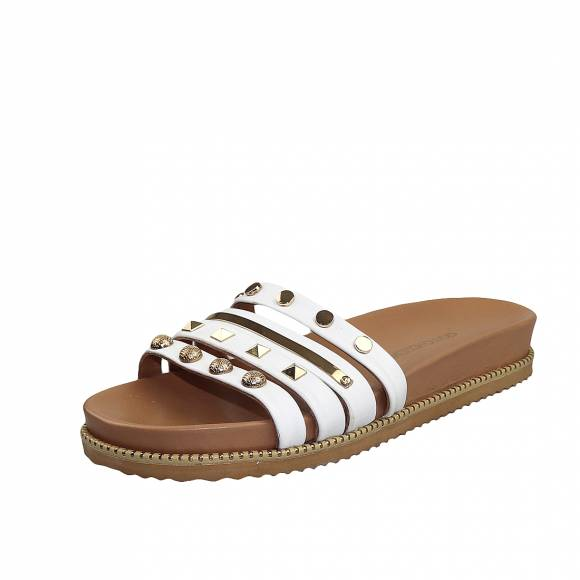 Γυναικεία Flatforms Gianna Kazakou 6403 White