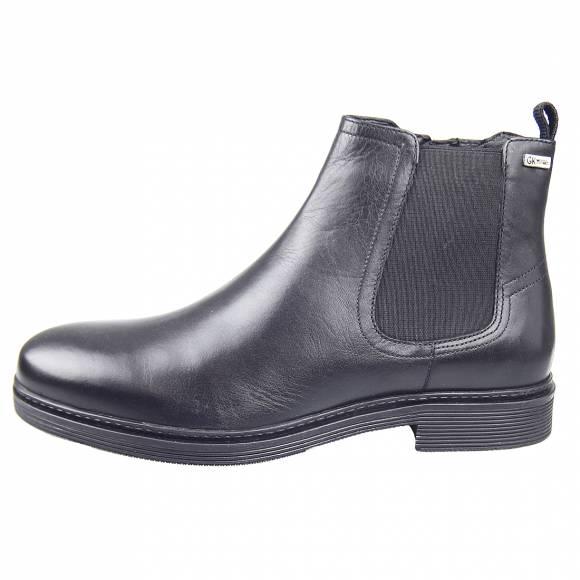 Ανδρικά Μποτάκια Casual Gk Uomo AB7882 55117822 D Black