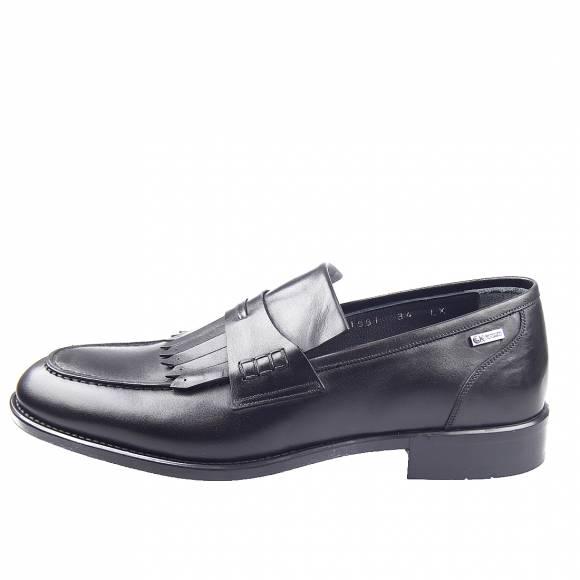 Ανδρικά loafers Gk uomo AB3522 11561 DF Black