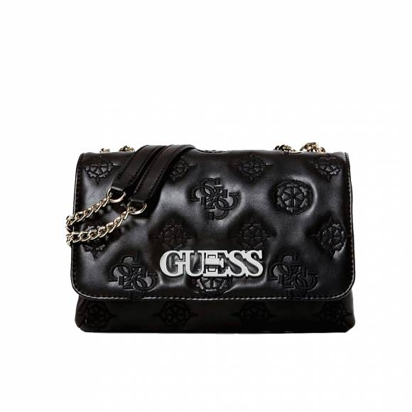 Γυναικείες Τσάντες Guess Chic Convertible Flat SG758921 Black