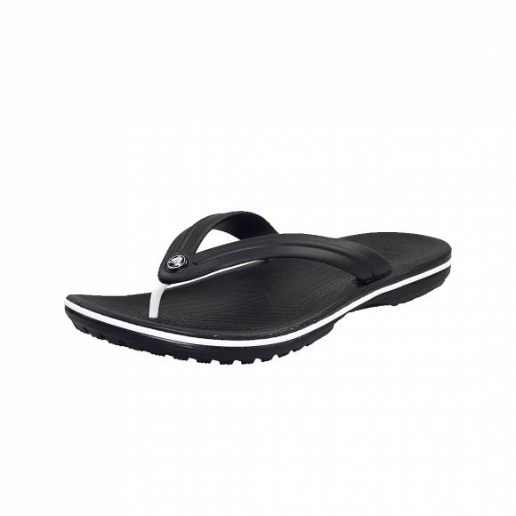 Unisex Σαγιονάρες Crocs 11033 001 Black relaxed fit crocband flip