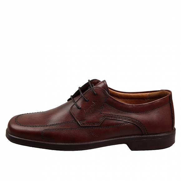 Ανδρικά Δερμάτινα Παπούτσια Casual Boxer 10104 Καφέ