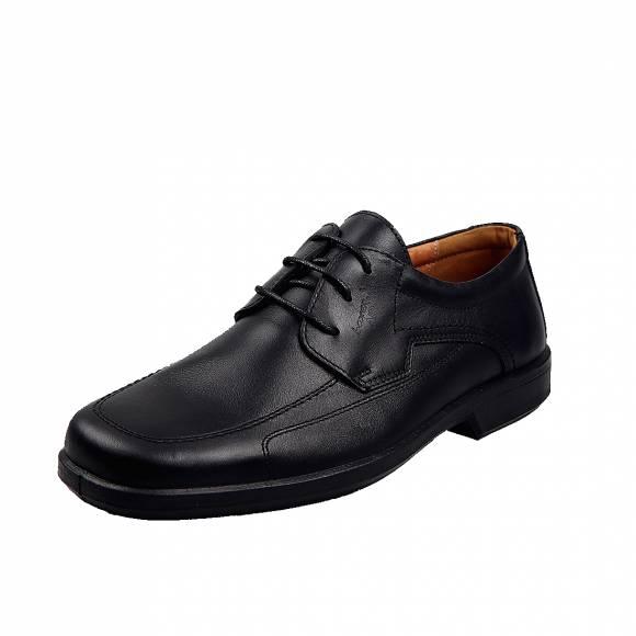 Ανδρικά Παπούτσια Casual Boxer 10104 Μαύρο