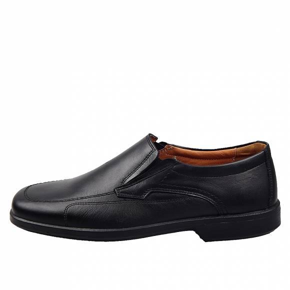 Ανδρικά Παπούτσια Casual Boxer 10105 Μαύρο
