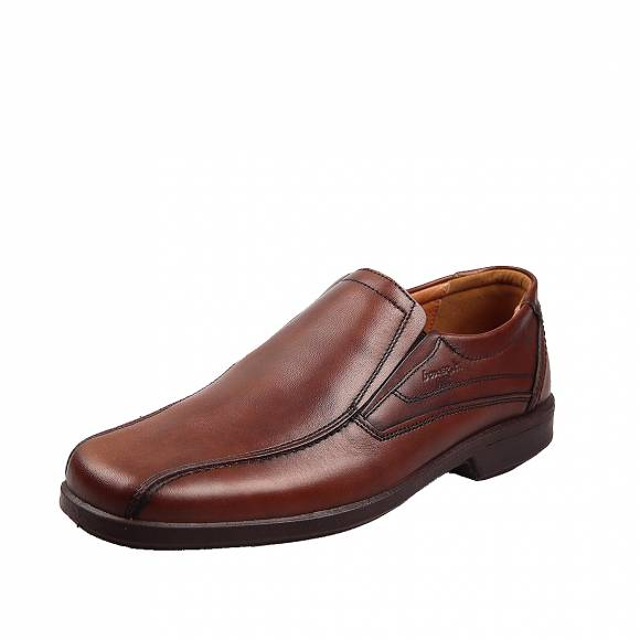 Ανδρικά Παπούτσια Casual Boxer 10052 Κονιάκ