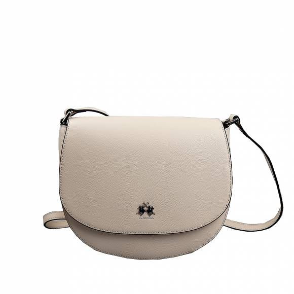 Γυναικεία Τσάντα La Martina Cross over bag With Flap Nevad 41W406 P0005 04160 Whisper pink leather